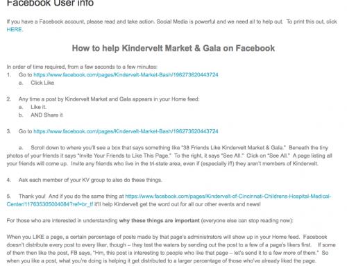 Facebook User info