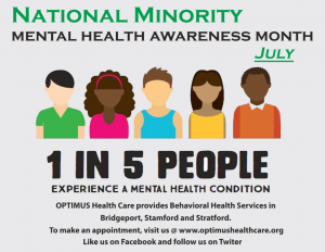 Minority Mental Health Month