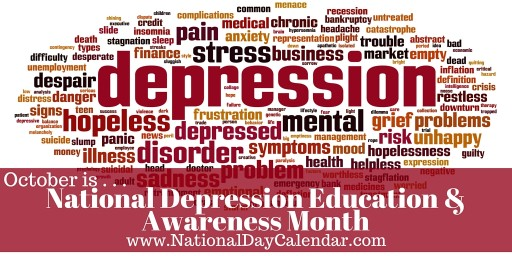 National Depression Screening And Bullying Prevention Month