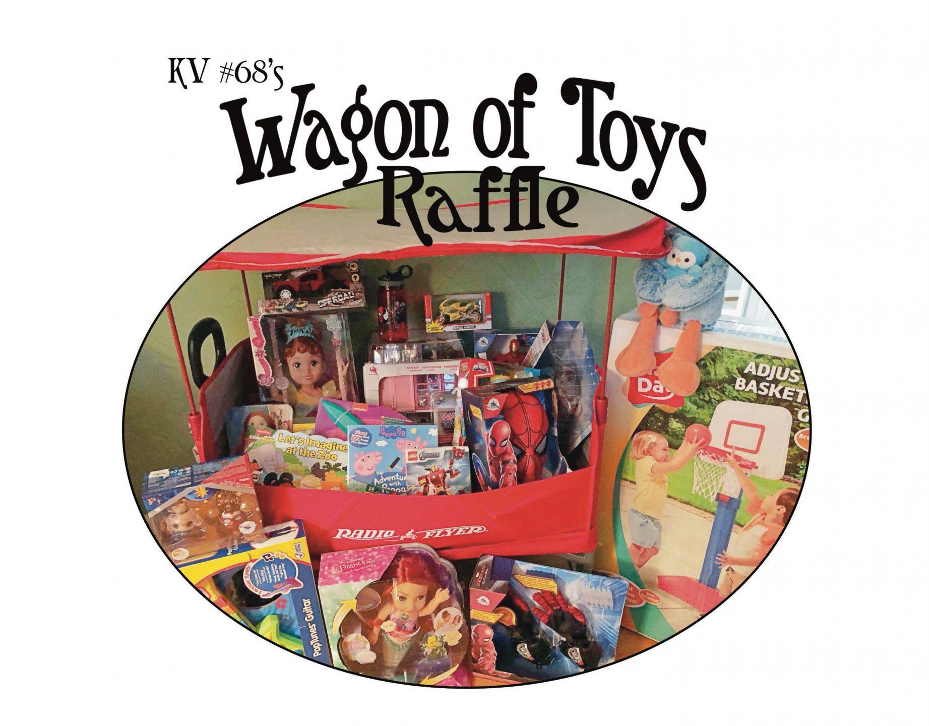 Wagon Of Toys Raffle